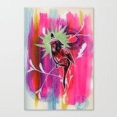 Dapper Cardinal is Dapper Canvas Print