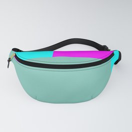 Touch of Hot Pink Test Pattern #minimal #buyart Fanny Pack