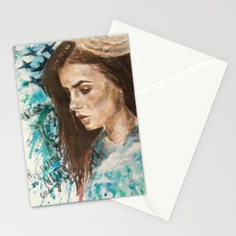 My name is not 'little girl' Stationery Cards
