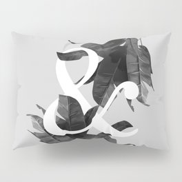 Botanical Ampersand Pillow Sham