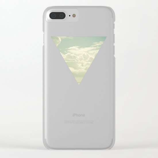 As the Clouds Gathered Clear iPhone Case