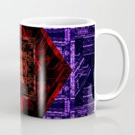 Red and Purple Design Coffee Mug