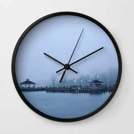 Cold Evening Wall Clock