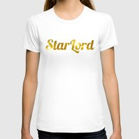 star lord T-shirts featuring Golden Star Lord by foreverwars