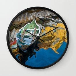 Norwegian Row Boat Wall Clock