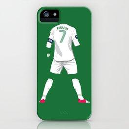 Ronaldo 7 iPhone Case