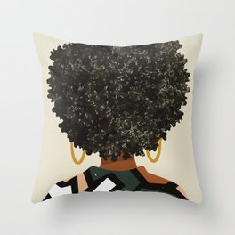 Black Art Matters Throw Pillow