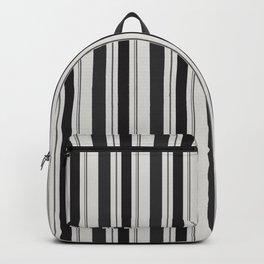 Dark grey stripes Backpack