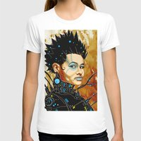 sci fi T-shirts featuring BLK SCI-FI 1 by BlackKirby1