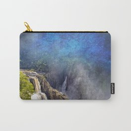 Wild waterfall in abstract Carry-All Pouch