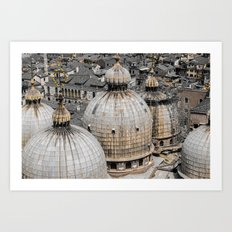 From the bird's view  Art Print