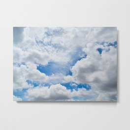 Clouds 1 Metal Print