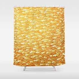 crenowood gold Shower Curtain