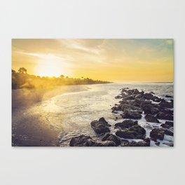 Happy Sunrise Canvas Print