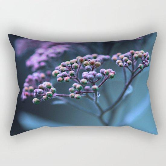 Purple hue. Rectangular Pillow