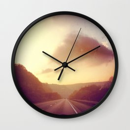 Lead and Follow Wall Clock