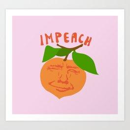 Impeach Trump Art Print