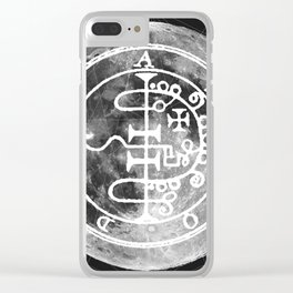 The Witches Moon Clear iPhone Case