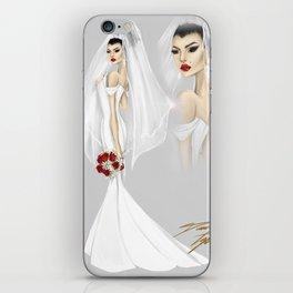 Linen Bride iPhone Skin