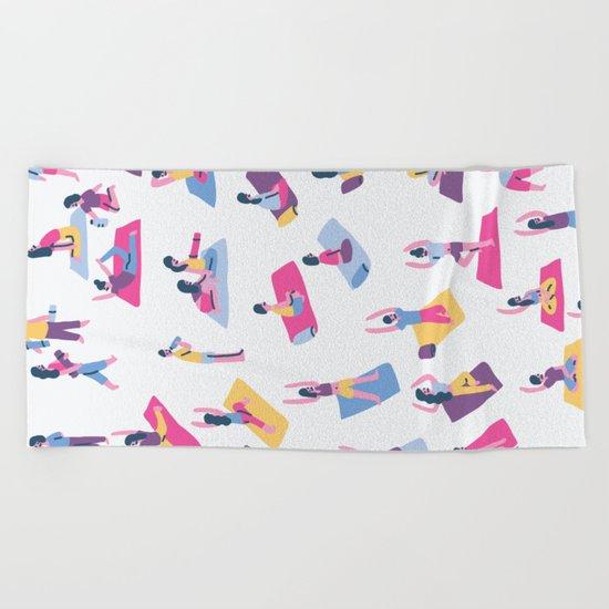 Yoga Beach Towel