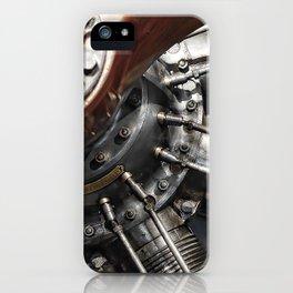 Airplane motor iPhone Case