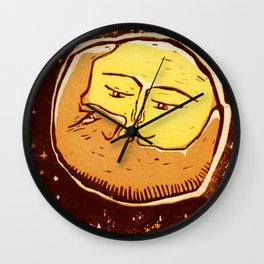 Conjunction moon and planet Wall Clock