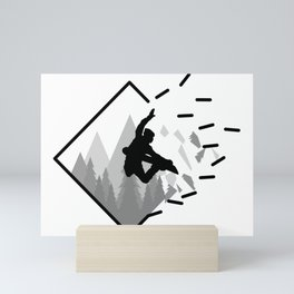 Snowboard Mini Art Print