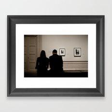 Art For Two Framed Art Print
