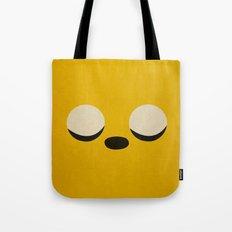 Minimalist Adventure Time Jake Tote Bag