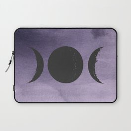 Triple Moon Goddess Laptop Sleeve