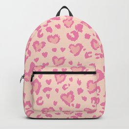 Leopard Hearts  Backpack