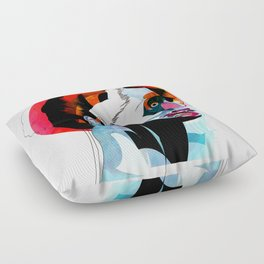 girl_220512 Floor Pillow