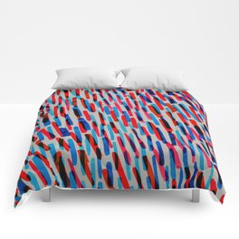 blue and red Comforters