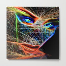 Wiretapped Period Metal Print