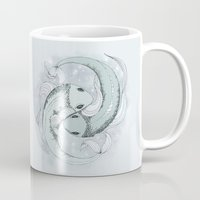 pisces Mugs featuring Pisces by Vibeke Koehler