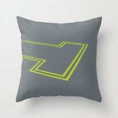 dead end Throw Pillow