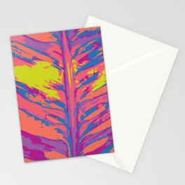 leafy coral Stationery Cards