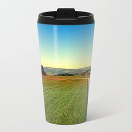 Autumn afternoon in the countryside | landscape photography Travel Mug