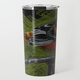 """Lawn Ornament"" Travel Mug"