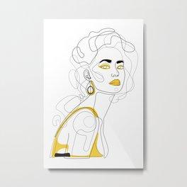 In Lemon Metal Print