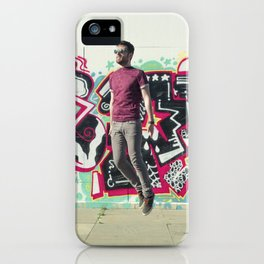 Hipster Abduction iPhone Case