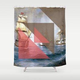 Shipment Shower Curtain