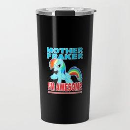 Cute Pony Travel Mug