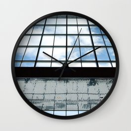 Mirror in #montreal Wall Clock