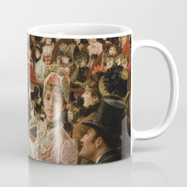 James Tissot - Women of Paris the circus lover Coffee Mug