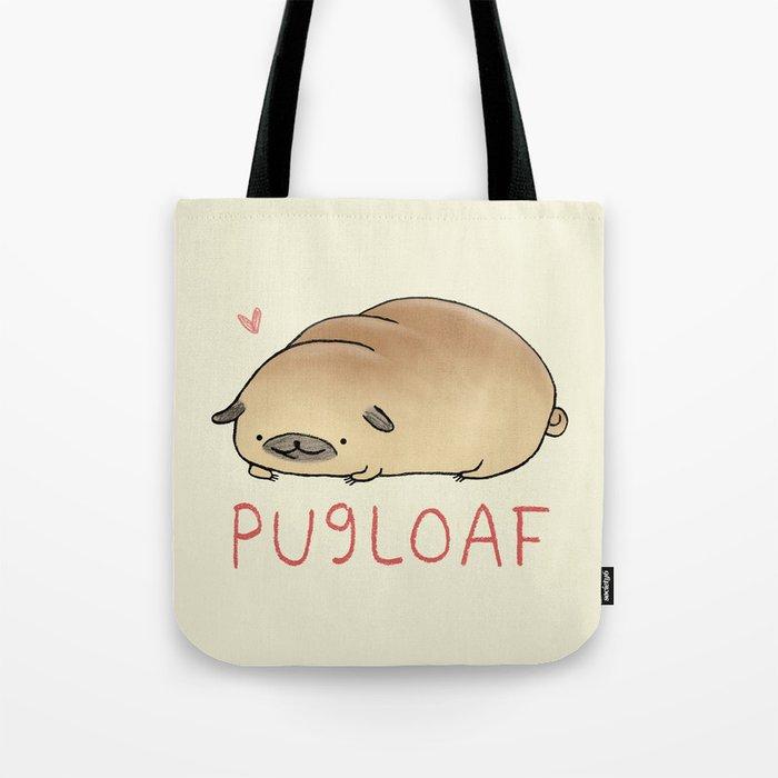 Pugloaf Tote Bag