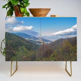Blue Ridge Peaks Credenza
