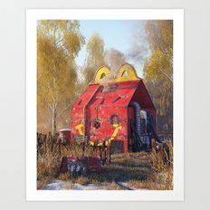 Happy Meal Art Print
