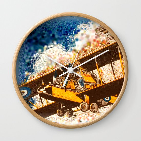 Wings Aloft Wall Clock