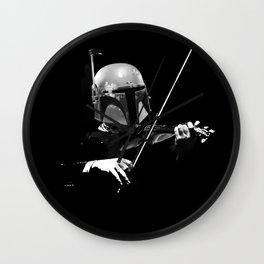 Dark Violinist Fett Wall Clock